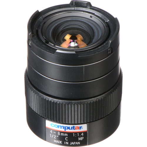 computar C-Mount 4-8mm Varifocal Lens