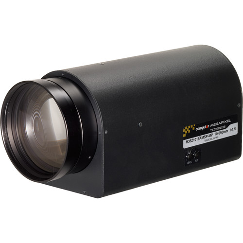 "computar H35Z1015-MP Series 1/2"" 2MP C-Mount 10 to 350mm 35x Video Auto-Iris Motorized Zoom Lens with Spot Filter & Preset"