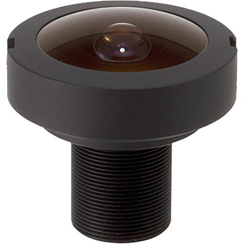 computar Megapixel Series M12 Mount 1.05mm Fisheye Lens (IP66-Rated)