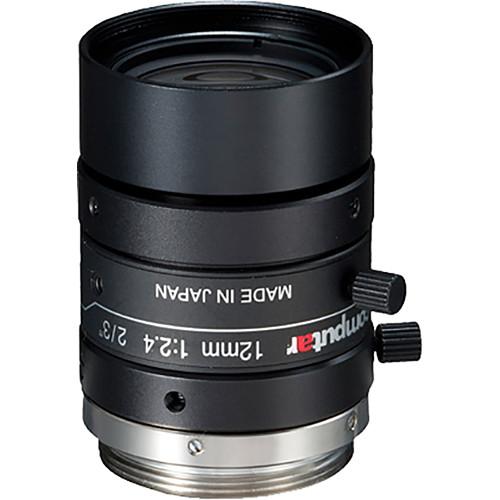 computar CMount 12mm f/2.4 5MP Ultra Low Distortion Lens