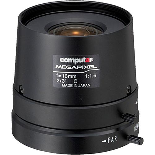 computar C-Mount 16mm f/1.6 5MP Manual Iris Lens