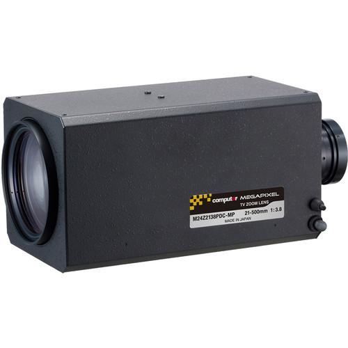 "computar M24Z2138-MP Series 2/3"" 2MP C-Mount 21-500mm 24x DC Auto-Iris Motorized Zoom Lens with Spot Filter & Preset"