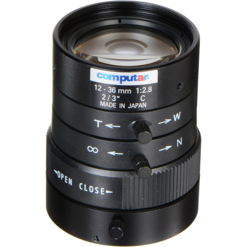 computar C-Mount 12-36mm Varifocal Lens