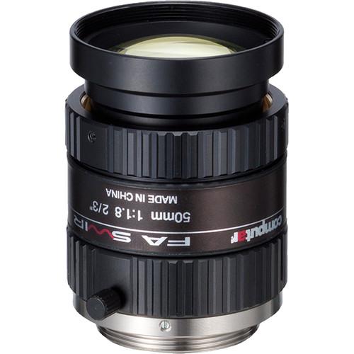 computar M5018-SW 50mm, f/1.8, SWIR Lens for Machine Vision (C-Mount)