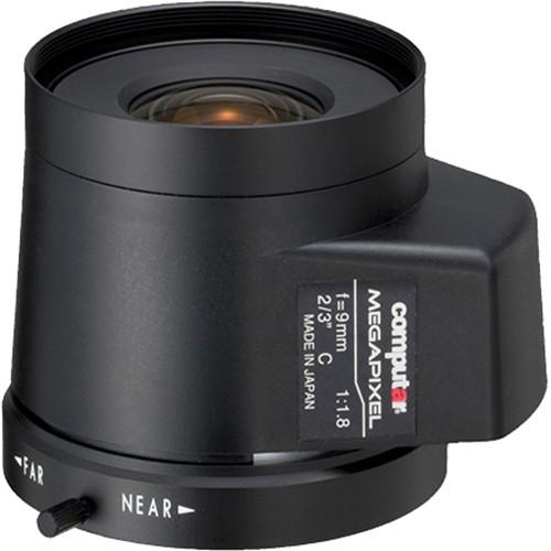computar C-Mount 9mm f/1.8 5MP Auto Iris Lens with DC Drive