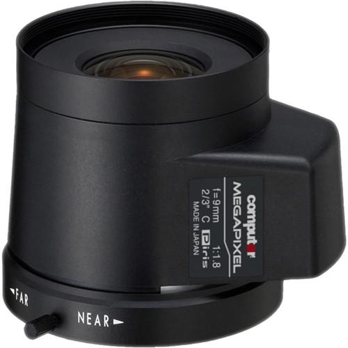 computar C-Mount 9mm f/1.8 5MP Stepping Motor Iris Lens