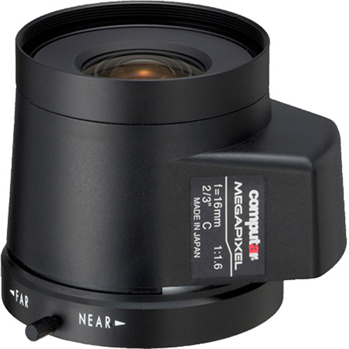 computar C-Mount 16mm f/1.8 5MP Auto Iris with DC Drive