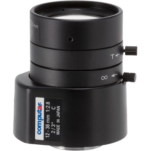 "computar Megapixel Series 2/3"" C-Mount 12-36mm f/2.8 DC Auto-Iris Lens"