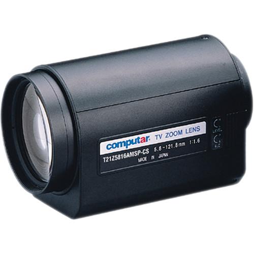 "computar T21Z5816AMSP 1/3"" Auto-Iris with Spot & Preset Lens (5.8 to 121mm)"