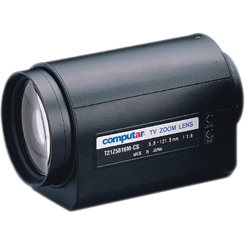 "computar T21Z5816M 1/3"" 3 Motors Lens (5.8 to 121mm)"