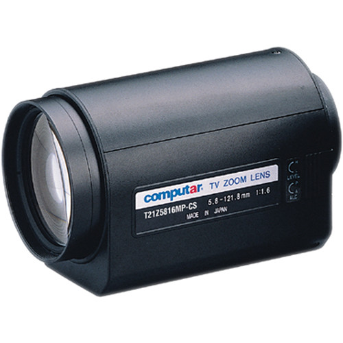 """computar T21Z5816MP 1/3"""" 3 Motors Lens with Preset (5.8 to 121mm)"""