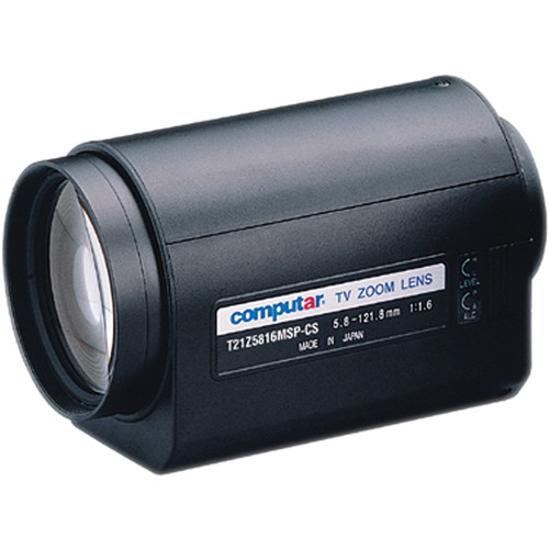 "computar T21Z5816MSP 1/3"" 3 Motors with Spot & Preset Lens (5.8 to 121mm)"