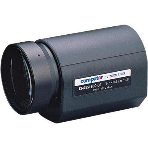 "computar T34Z5518DC 1/3"" DC Auto-Iris Lens (5.5 to 187mm)"