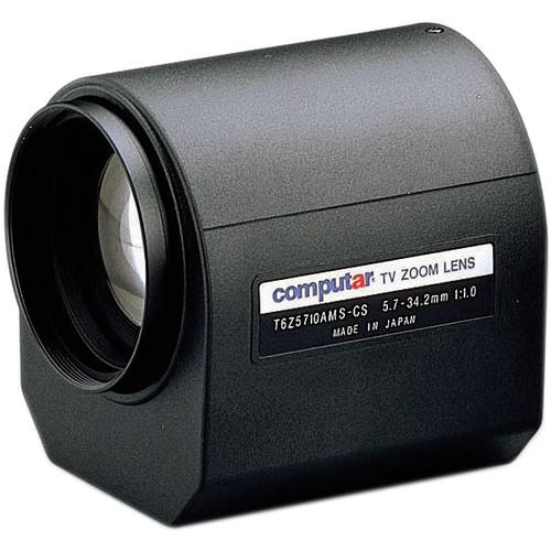 "computar T6Z5710AMS 1/3"" Video Auto-Iris Lens w/Spot (5.7 to 34.2mm)"