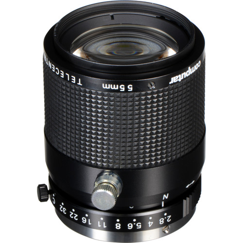computar C-Mount 55mm Telecentric Fixed Focus Lens