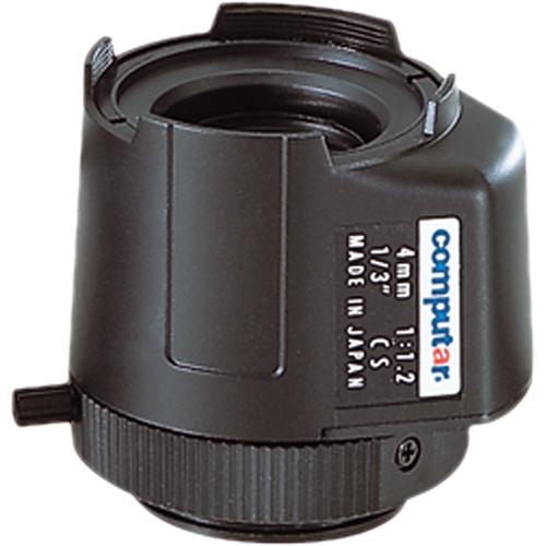"""computar TG0412FCS-L 1/3"""" 4mm f/1.2 CS Mount Lens"""