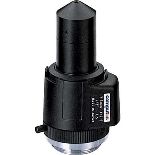 computar TG2625FCS-P CS-Mount Pinhole 2.6mm Fixed Lens