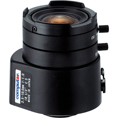 "computar TG3Z3510AFCS-IR 1/3"" Varifocal Lens with Amplifier (3.5-10.5mm)"