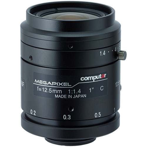 "computar 1"" 12.5mm f/1.4 2MP Lens (C-Mount)"
