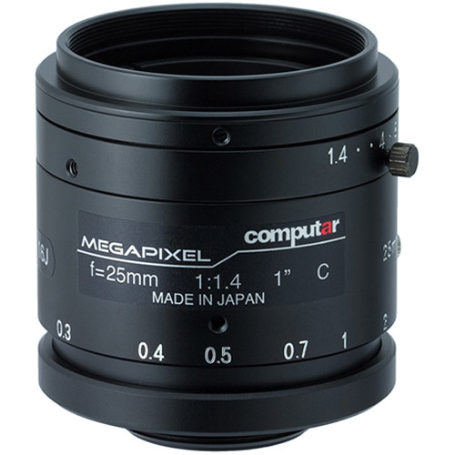 "computar 1"" 25mm F1.4 2.0 Megapixel Ultra Low Distortion Lens"