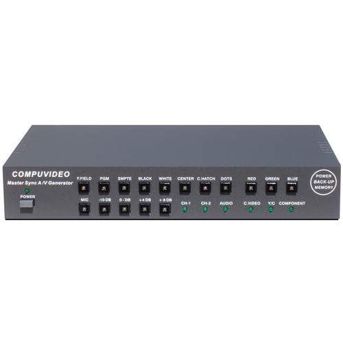Compuvideo CV-7000N(RM) Master Sync A/V Generator (NTSC)