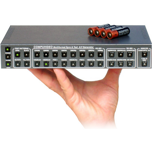 Compuvideo CV-9270SDI-AN 3G HD/SD-SDI Multiformat Generator and Analog A/V