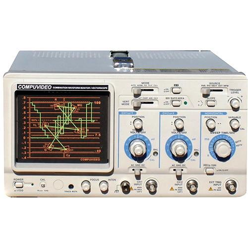 Compuvideo SVR-4000K Multi-Format SD/HD/3G/6G-SDI Waveform Monitor & Vectorscope