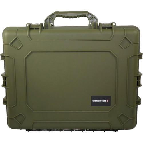 Condition 1 Watertight 101024 Hard Case (Green)
