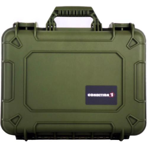Condition 1 Watertight 101075 Hard Case (Green)