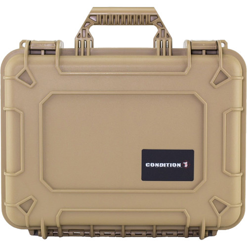 Condition 1 Watertight 101179 Hard Case (Tan)