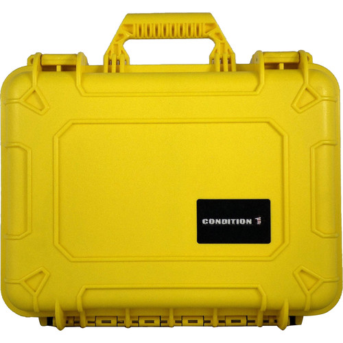 Condition 1 Watertight 101179 Hard Case (Yellow)