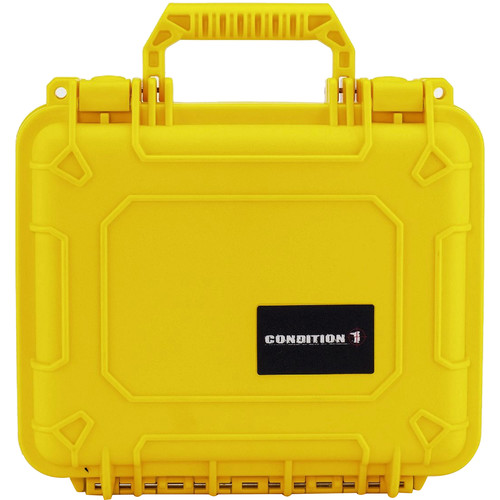 Condition 1 Watertight 101184 Hard Case (Yellow)
