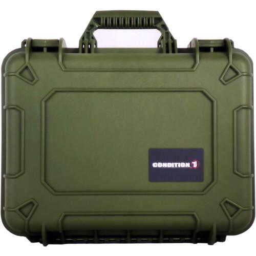 Condition 1 Watertight 101185 Hard Case (Green)