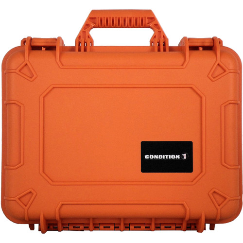 Condition 1 Watertight 101185 Hard Case (Orange)