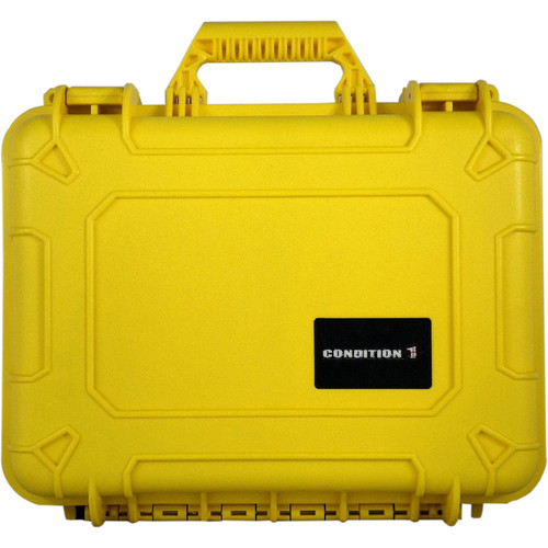 Condition 1 Watertight 101185 Hard Case (Yellow)