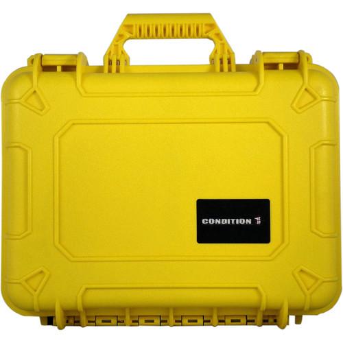 Condition 1 Watertight 101185 Hard Case (Yellow)