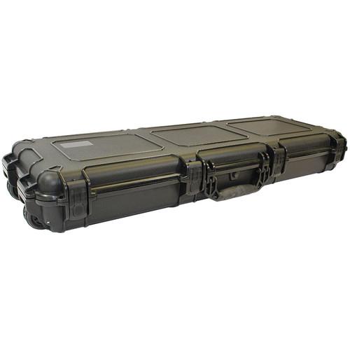 "Condition 1 44"" Shotgun and Rifle Carrying Waterproof Gun Case (Black)"