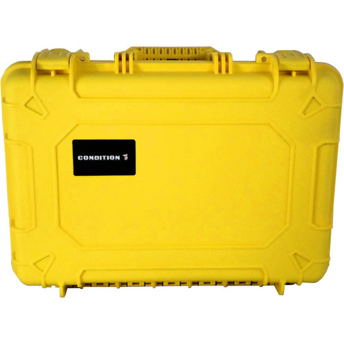 Condition 1 Watertight 101253 Hard Case (Yellow)