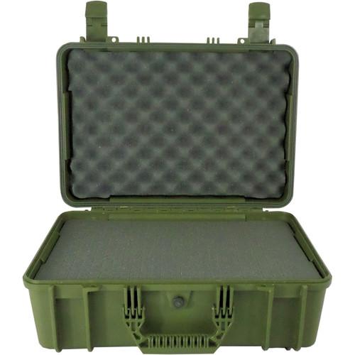 Condition 1 Watertight 101801 Hard Case (Green)
