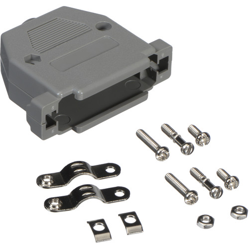 Connectronics 25-Pin D-Sub Connector Hood (Gray)