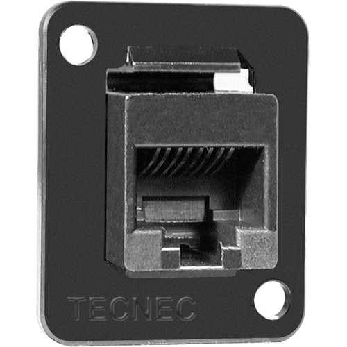 Connectronics CAT-5E RJ45 Female to Female Feedthru D Series Panel Mount