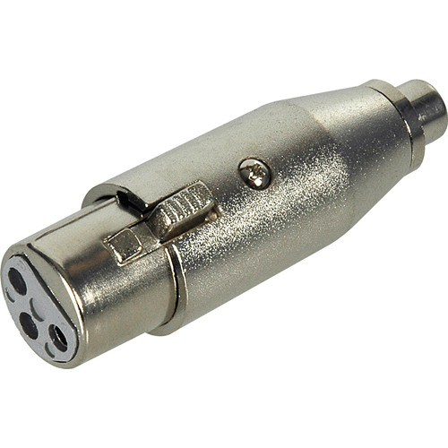 Connectronics Xlr Female To Rca Female Adapter Xlf