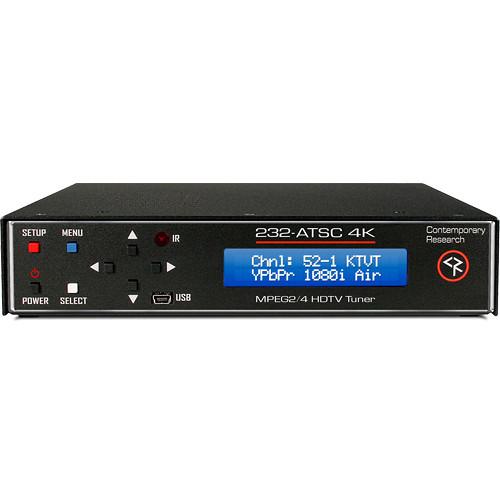 Contemporary Research 232-ATSC 4K HDTV Tuner