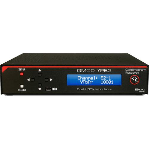 Contemporary Research QMOD-YPB 2 HDTV Modulator and IPTV Encoder