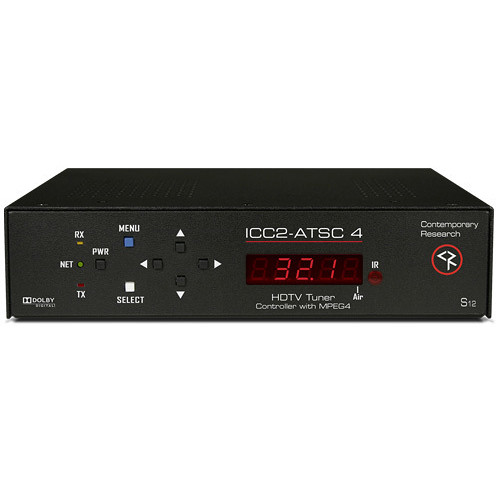 Contemporary Research ICC2-ATSC 4 HDTV Tuner/Controller