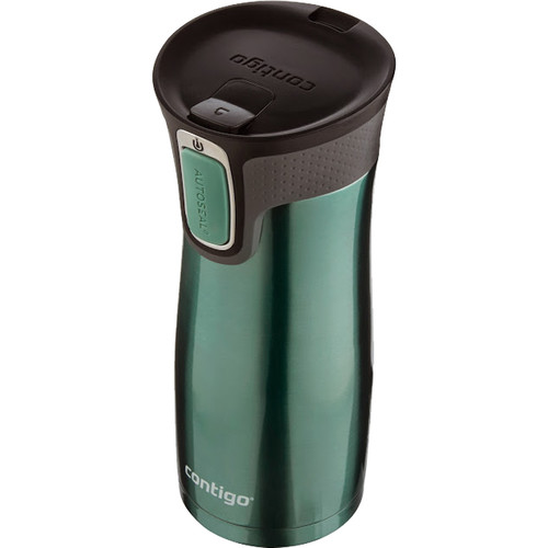 Contigo West Loop Travel Mug with Easy Clean Lid (16 fl oz , Gray Jade)
