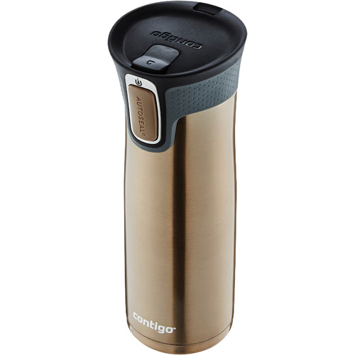 Contigo West Loop Travel Mug with Easy Clean Lid (20 fl oz , Latte)