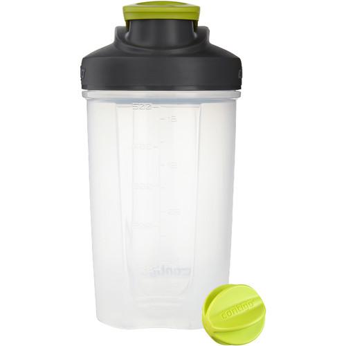 Contigo 20 oz Shake & Go Fit Mixer Bottle (Electric Green)
