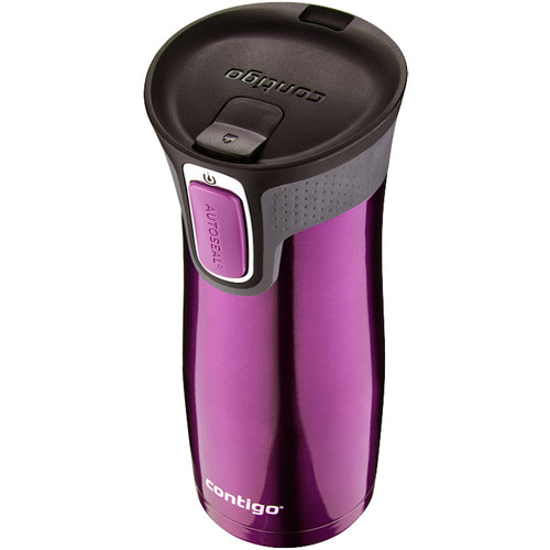 Contigo West Loop Travel Mug with Easy Clean Lid (16 fl oz , Radiant Orchid)