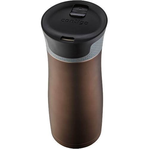 Contigo West Loop Travel Mug with Easy Clean Lid (16 fl oz , Latte Transparent)